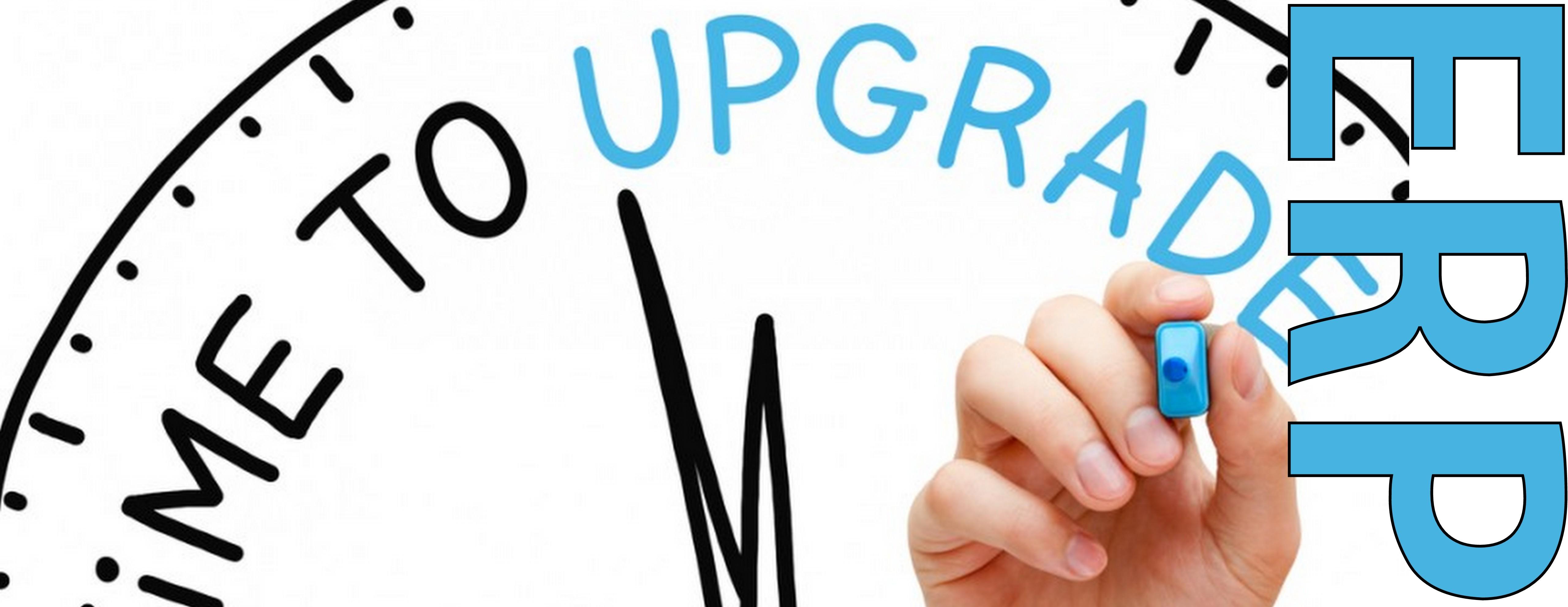 Upgrading ERP